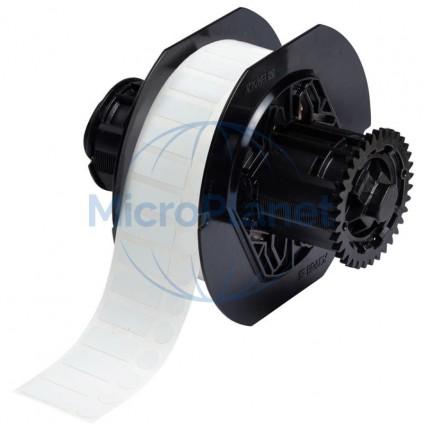 B33-600-8423 ETIQUETA BRADY de poliéster blanco para impresoras BBP33 / i3300. c/2500 unid.