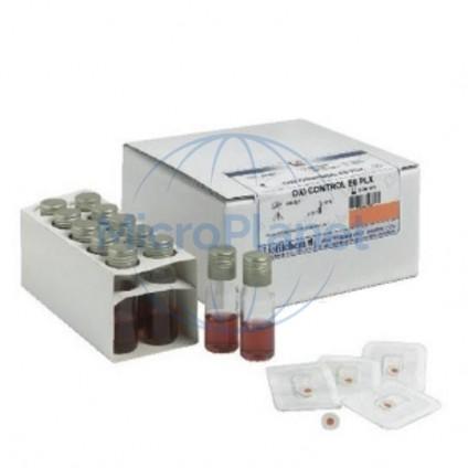OXI CONTROL E6 PLX c/20 test (20 botones poliflex + 20 tubos)