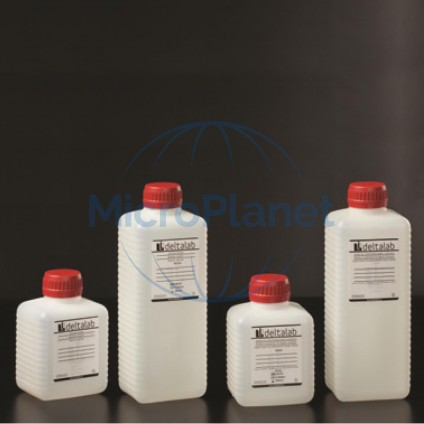 FRASCO ESTÉRIL 500 ml sin tiosulfato en PE blanco opaco, con tapón y sellado, c/
