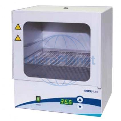 MINI INCUBADOR INCU-LINE 23 DIGITAL, de 23 litros y ventanilla transparente.