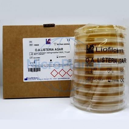 TSYE AGAR (TSYEA, TRYPTONE SOYA YEAST EXTRACT AGAR), placa 90 mm c/20 unid. (ISO 11290)