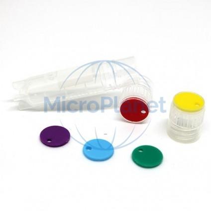 EPPi® disco inserto color AMARILLO para EPPi® Cryo Tubes c/10x100 pcs